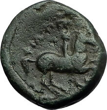 Philip II 359BC Olympic Games HORSE Race WIN Macedonia Ancient Greek Coin i59443