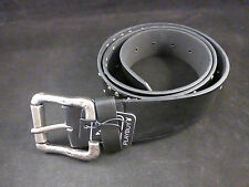 Playboy Stylish & Understated Black Rivieted Belt with revolving Mottled Buckle