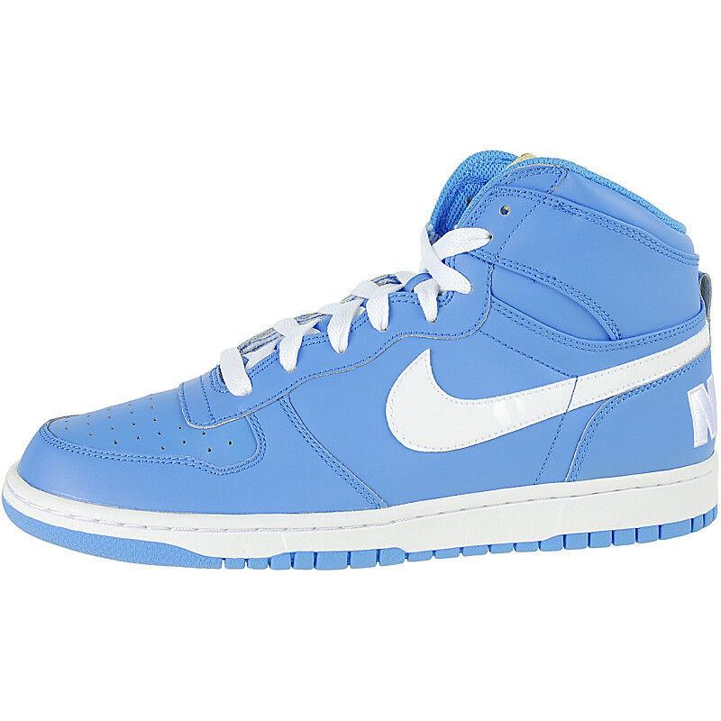 2009 Big Nike Dunk Woven Woven Woven High LE SZ 9.5 University Blau Weiß Gold OG 366726-411 37269c