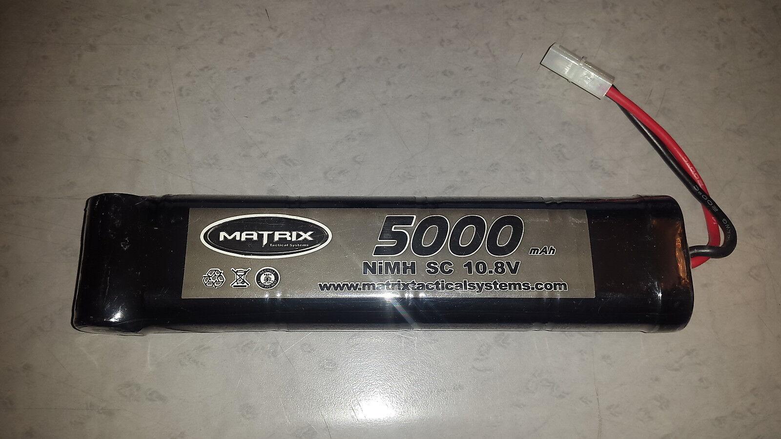 Batterie accus MATRIX 5000 mAh 10,8V NiMH SC NEUF