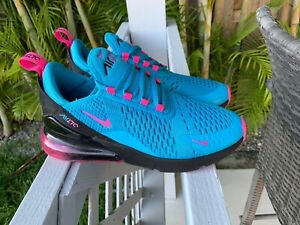 official photos 88465 3f164 Image is loading NIKE-AIR-MAX-270-SOUTH-BEACH-BV6376-400-