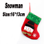 Christmas Santa Socks Tableware Ornaments Snowman Xmas Holiday Party Home Decor