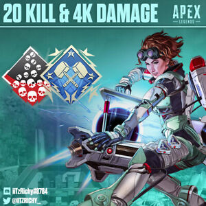 20-Kill-and-4K-Damage-Badge-Apex-Legends-Season-7-Any-Legend-PS4-PC