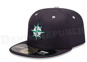 best service 99c8d 6bef4 Image is loading New-Era-5950-SEATTLE-MARINERS-MLB-Diamond-Era-