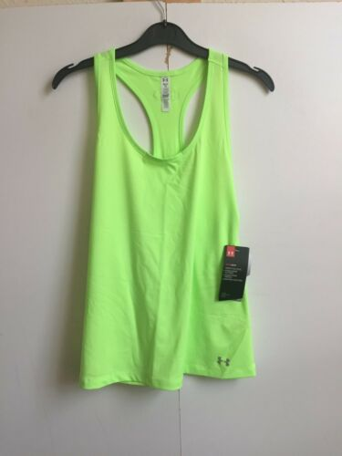 10 S - Light Green Under Armour Women/'s UA Fly-By Classic Racerback Vest