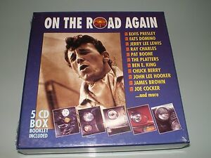 COFFRET-5X-CD-BOX-SET-ON-THE-ROAD-AGAIN-COLLECTOR-RARE-1993-NEUF-SOUS-BLISTER