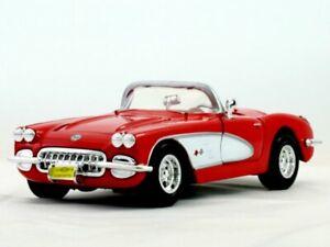 CHEVROLET Corvette - 1959 - red - MotorMax 1:24