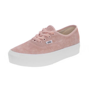 Details about Vans Sneakers Ua Authentic Platform (Pig Suede) - Pale Dogwood Pink
