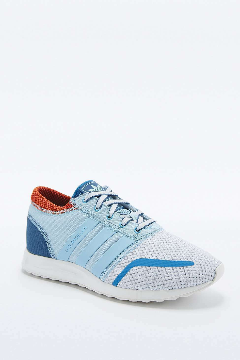 Adidas Originals Los Angeles Trainers shoes (AF4225) - bluee - UK 4 -   New