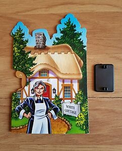 Cluedo Mysteries Spare Replacement Character Wheel Mrs White Cottage (18)