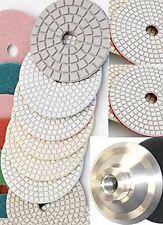 "4"" Diamond Polishing Pad 41 PC 2 Glaze Buff Granite Marble Concrete Glass Quartz"
