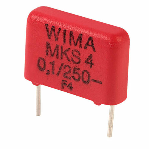 Wima MKS4F031003C00KS 100nF ±10/% 250V 10mm Pitch Polyester Capacitor