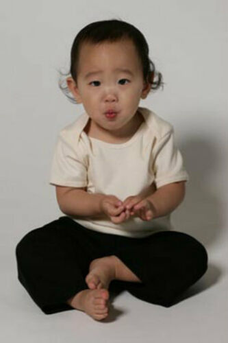 Recycle A Tee Organic Cotton Baby Rib Short Sleeve Lap Shirt Boys /& Girls 517100