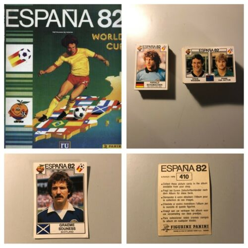 1,2,3,4,5,10,15,20  available PANINI ESPANA 82 Stickers Complete your album