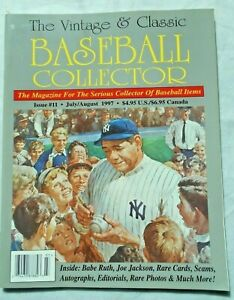 The-Vintage-amp-Classic-Baseball-Collector-magazine-11-July-August-1997