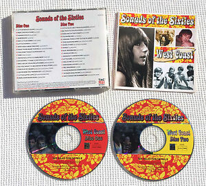 Sounds-of-the-sixties-West-Coast-time-life-RARE-CD-TL-SCC-32-Holland-B-V