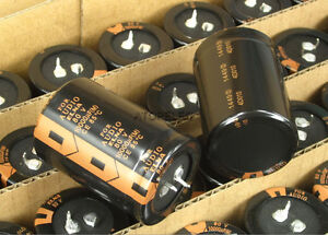 2pcs-ELNA-FOR-AUDIO-10000uF-80V-Electrolytic-Capacitors-Hi-Fi-Audio