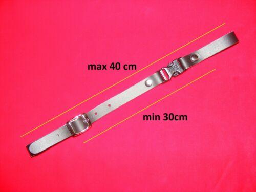 Querriemen für Akkordeon,ab 30cm bis 40cm,Leder,accordion back strap//Black+beige