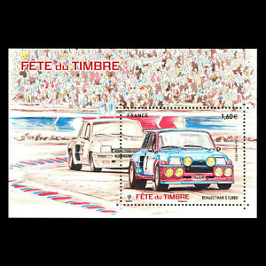 France-2018-Stamp-Day-034-Race-Cars-034-s-s-MNH
