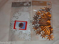 SILVER/WHITE STAR FOIL BALL SHAPE DECORATION CHRISTMAS CLUB PARTIES CEILING