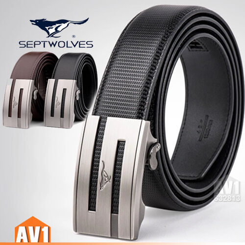 classic Casual real leather Cow skin AUTO Buckle Belts. Elegant Men gift