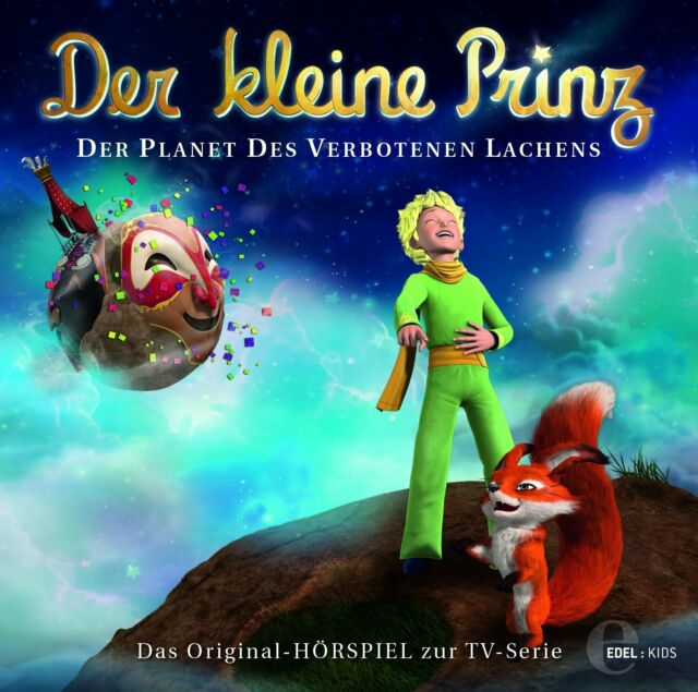 CD * DER KLEINE PRINZ - HSP 19 - DER PLANET DES VERBOTENEN LACHENS  # NEU OVP &