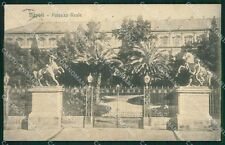 Napoli Città Palazzo Reale cartolina XB4375