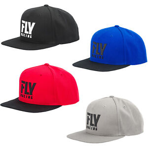 Fly Racing Adult F-Wing Hat FlexFit Multiple Sizes And Colors