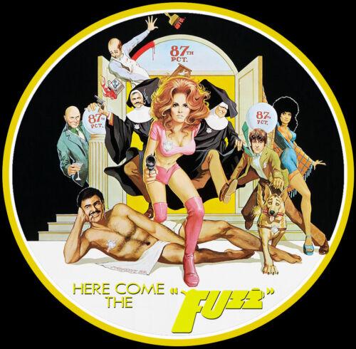 70/'s Burt Reynolds Classic Fuzz Poster Art custom tee Any Size Any Color