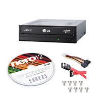 Super Multi Drive Kit Internal Optical Dvd W/sata Cable Nero 12 Burning Software