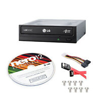 Super Multi Drive Kit Internal Optical Dvd W/sata Cable Nero 12 Burning Software