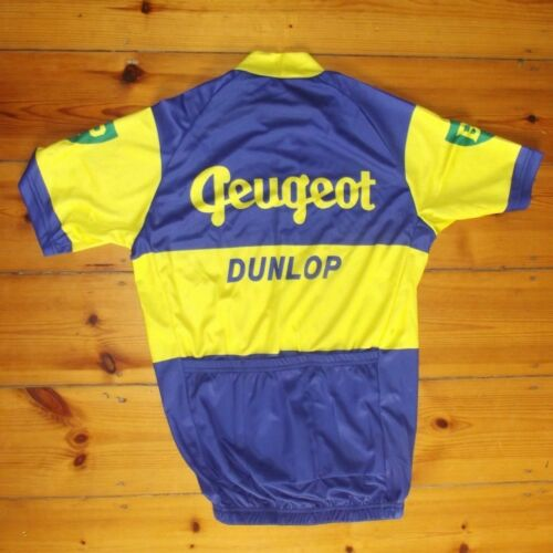 Brand New Team Peugeot Dunlop Jersey cycling Jersey,