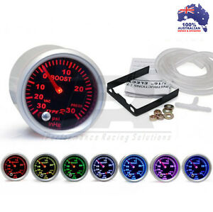 52mm-Type-R-7-COLOR-BOOST-Gauge-PSI-Universal-Fit