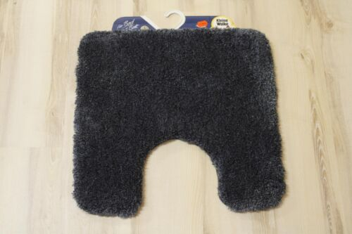 Petite natte nuage relax anthracite 55x55 stand-wc tapis de bain