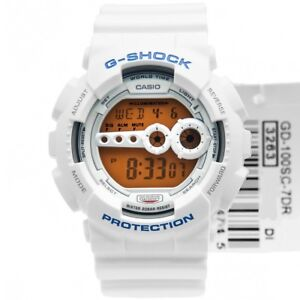 78dcd48f90bc Casio G-Shock GD-100SC-7 Original Crazy Colors White Mens Watch 200M ...