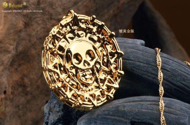 Pirates of the Caribbean JACK SPARROW AZTE Medallion Necklace Elizabeth