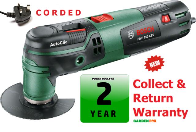 savers Bosch PMF250CES Multi-Function Tool 250 Watt 0603102170 3165140828543 SD