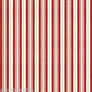 Santa Claus Stripes Red Weihnachtsstoffe Patchwork Stoffe