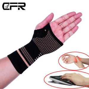 Kompressionshandschuhe-Anti-Arthritis-Handbandage-Handgelenkstuetze-Halb-Finger