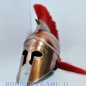 Roman Centurion Medieval Armor Helmet Roman Knight Officer centurion Helmet Replica With plume for Father/'s day Gift