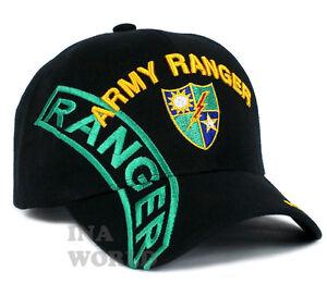Details about U.S. ARMY RANGER hat 75th Ranger Regiment Military Licensed  Baseball cap- Black ef5fb9e92a2