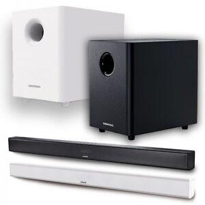 grundig gsb 980 2 1 bluetooth soundbar inkl subwoofer. Black Bedroom Furniture Sets. Home Design Ideas