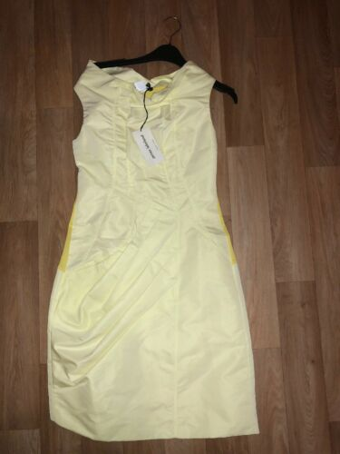 Wow Brand Uk8 New James Dress Yellow Ladies Occassion Lakeland Bnwt Xs RqT4v4