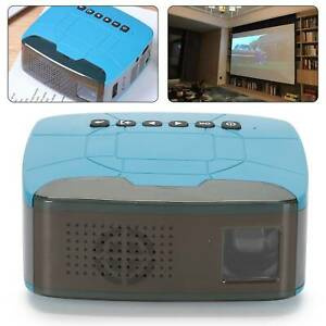 7000LM LED Pocket 3D Projektor Mini Beamer Heimkino Voll HD 1080P USB TF HDMI AV