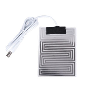 5v portable usb heating sheet warm hand mouse pad carbon fiber heating pad  LA