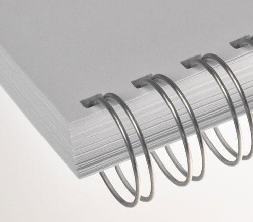 Ø 19,0 mm 23 Schlaufen silber 2:1 Teilung RENZ Draht-Bindeelemente =DIN A4