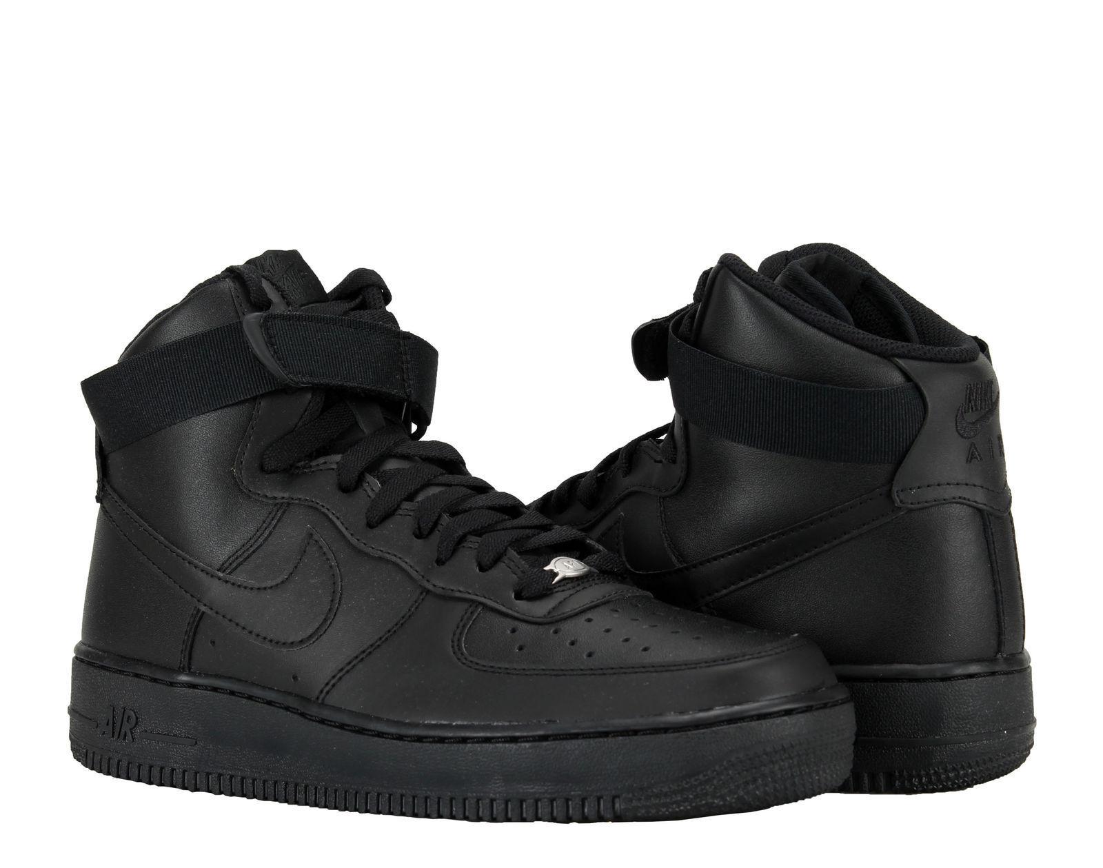 Männer - force nike air force - 1 hohe '07 lifestyle schwarz / schwarz für 315121-032 größe 8 - 12 34e165