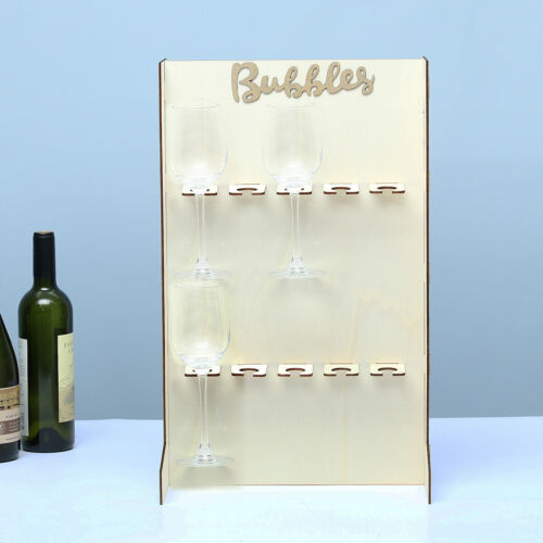 DIY Bubbles Champagne Wine Drinks Wall Stand Birthday Party Wedding Stand Decor
