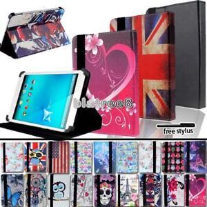 Per-vari-7-034-8-034-10-034-Alcatel-TABLET-SMART-STAND-COVER-IN-PELLE-caso-Stylus