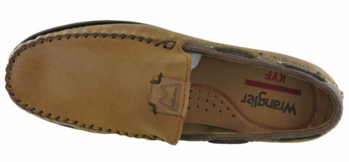 Wrangler Mens Boat Shoes Leather Deck Moccasin Flat Trainers Lightweight UK 7-11